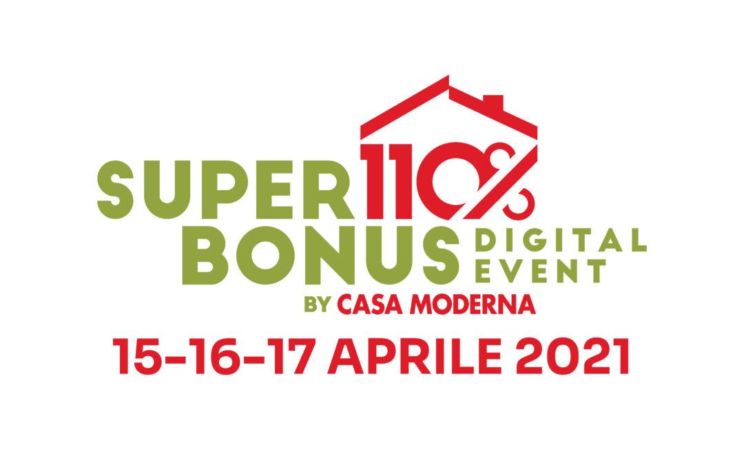 SUPERBONUS 110% Digital Event by Casa Moderna